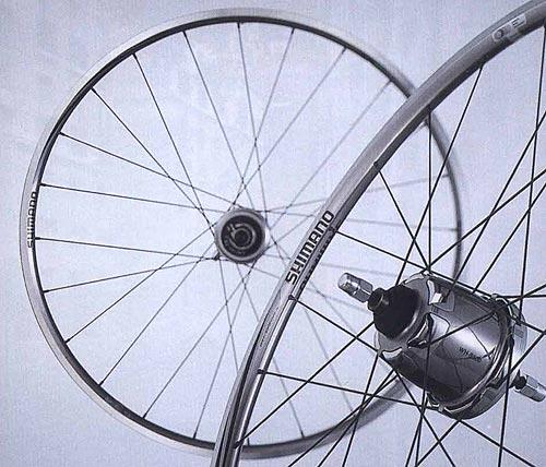 WH-S501-3D/8D. Компоненты серии Comfort. Велосипедные компоненты Shimano 2010 года.