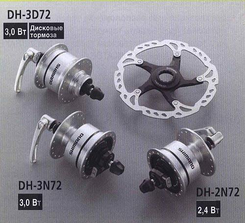 FC-NX75. Компоненты серии Comfort. Велосипедные компоненты Shimano 2010 года.