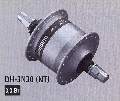 DH-3N30 (NT). Компоненты серии Comfort. Велосипедные компоненты Shimano 2010 года.