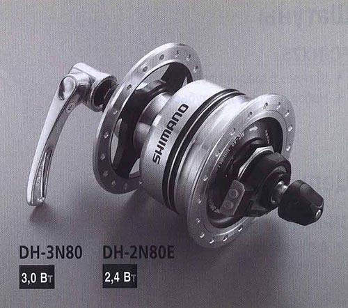 DH-3N80 DH-2N80E. Компоненты серии Comfort. Велосипедные компоненты Shimano 2010 года.