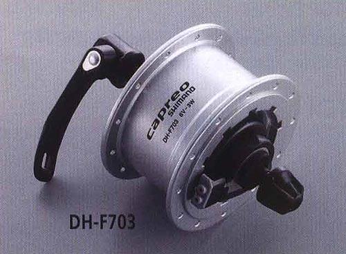 DH-F703. Компоненты серии Comfort. Велосипедные компоненты Shimano 2010 года.