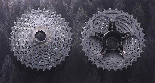 CS-M770. Компоненты для горного велосипеда.  Велосипедные компоненты Shimano 2010 года.